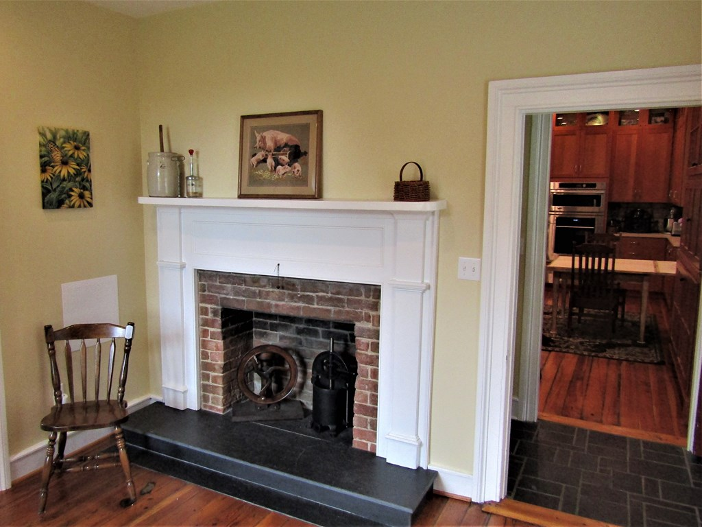 Keepers Room Fireplace