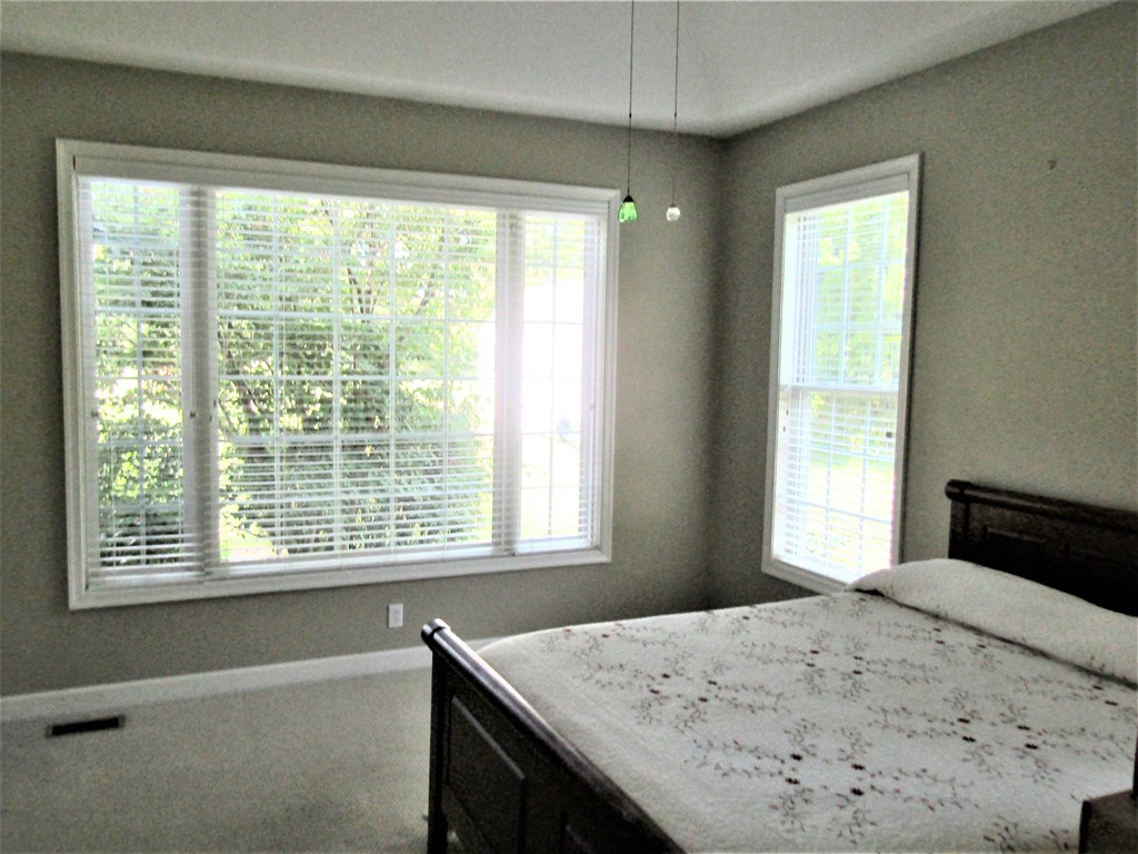 Master Bedroom with Oversized Window