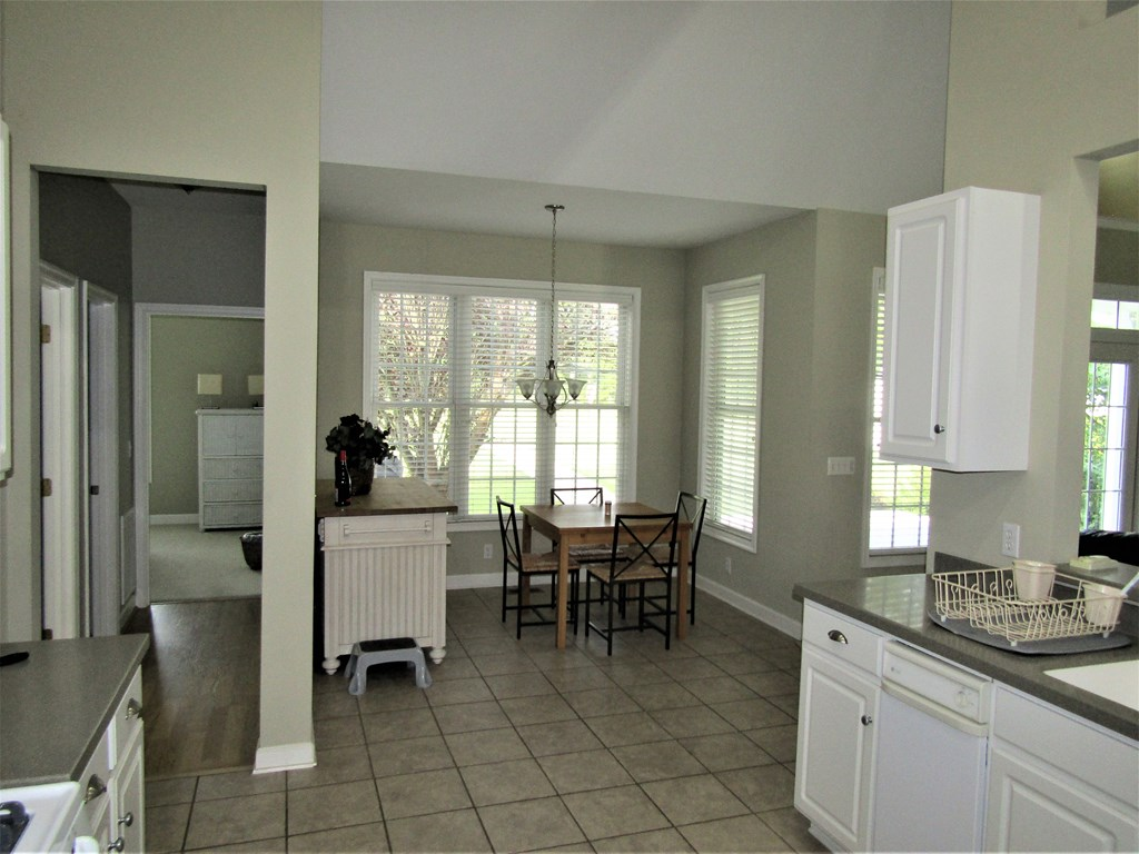 Kitchen to Breakfast Nook